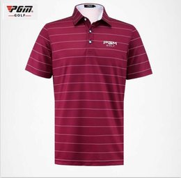$enCountryForm.capitalKeyWord Australia - PGM 2017 new men's Sportswear golf POLO shirt summer short-sleeve quick dry breathable fabric soft golf T-shirt