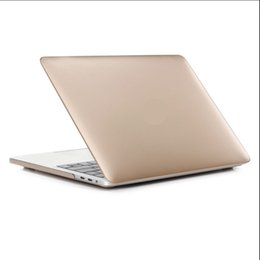 Wholesale Aicoo Metallic MacBook Full body Protective Case Inch Macbook Air Pro Retina A1932 A1707 A1708 Plastic Wrapped