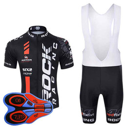 jersey bib yellow 2019 - ROCK RACING New Cycling Jerseys bib shorts set Bicycle Breathable sport wear Bicycle Clothing Lycra summer MTB Bike Ropa