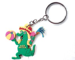 Shape photo giftS online shopping - Customized shape PVC Rubber Keychain for Promotional Gifts Silicon keychain soft d d colorful pvc keychain