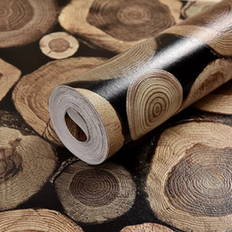 $enCountryForm.capitalKeyWord Australia - Modern 3D Embossed Flocking Wood Wallpaper Rolls For Bedroom Living Room Home Decoration 3D Wall Paper for sofa background