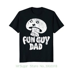 Wholesale Mens Fun Guy Dad Shirt Funny Fathers Day Gift Fungi Mushroom Pun New T Shirts Unisex Funny Tops Tee