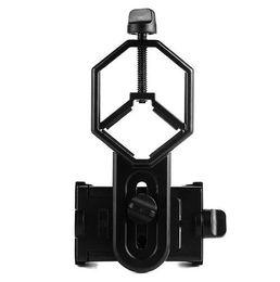 Single Telescope NZ - Telescope mobile phone clip telescope mobile phone holder single tube bird mirror photo clip metal durable multi-purpose clip