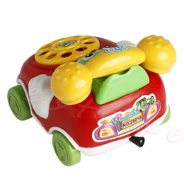 Baby Gift Delivery UK - New 1Pc Baby Toys Music Cartoon Phone Educational Developmental Kids Toy Gift Color random delivery