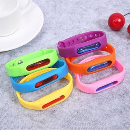 free mosquito wristbands UK - New Anti Mosquito Pest Insect Bugs Repellent Repeller Wrist Band Bracelet Wristband Protection mosquito Deet-free non-toxic Safe Bracelet