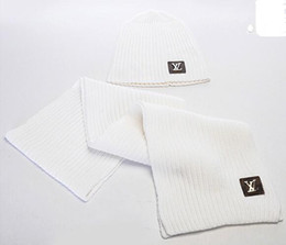 Hottest Scarves NZ - Hot Sale New Fashion Winter And Autumn Warm Hat High Quality Cap Men Women Scarf Hats Knitted Caps Scarf Adjustable,New Brand G1624