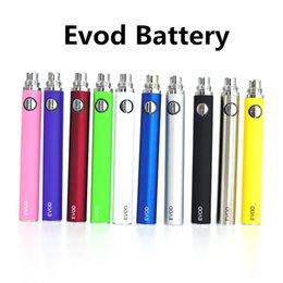 Ce4 Ce5 Pen Australia - EVOD Vape Battery 510 Thread Vaporizer Pen E Cig Batteries 650mah 900mah 1100mah Electronic Cigarettes For CE4 CE5 H2 Cartridges