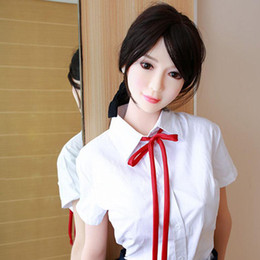 Anime Adult dolls online shopping - NEW KCDOLL cm Real Silicone Sex Dolls with Skeleton Japanese Full Adult Anime Oral Love Doll Realistic Vagina Toys for Men Big Breast