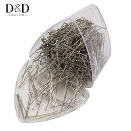 Pins Pack Australia - D&D 1000pcs Stainless Steel 31mm Dress Pins Packed in a Plastic Box Useful DIY Sewing Tools