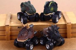 $enCountryForm.capitalKeyWord Australia - 6kinds Pull Back Dragon Car Cute Dinosaur Toy Car Dinosaur Models Mini Toy Cars 7*5*6cm Gift for Kids