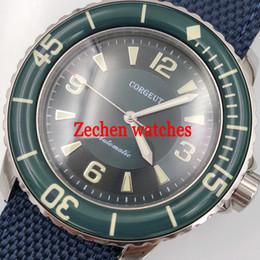 self luminous watch automatic 2019 - Corgeut 45mm miyato8210 dial Luminous hands Automatic Self-Wind Vintage mens watch cheap self luminous watch automatic
