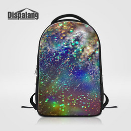 $enCountryForm.capitalKeyWord Canada - Lifelike Galaxy Design School Bag For Teenage Girls Universe Space Backpacking For Laptop Men's Travel Bagpack Mochila Escolar Unique Rugzak