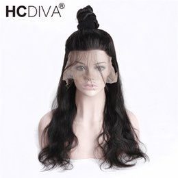 Glueless full lace indian 12 online shopping - Glueless Pre Plucked Full Lace Human Hair Wigs For Black Women Body Wave Wig Peruvian Human Hair With Baby Hair Remy HCDIVA