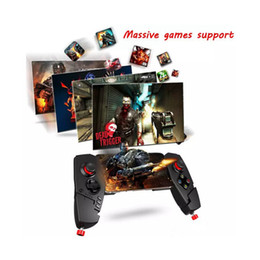 Tablet Wireless Controller Australia - IPEGA PG - 9055 Red Spider Wireless Bluetooth Gamepad Telescopic Game Controller Gaming Joystick For Android IOS Tablet PC