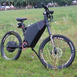 Black Bike White Seat Australia - Leili Electric Bicycle 5000w Enduro Ebike Electric mountain bike for sale