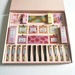 New HOT Faced Tutti Frutti Makeup Set 26in1 Kit Pineapple eyeshadow palette lip gloss liquid highlighter Fruit Cocktail blush powder set