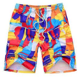 492460e3d8 Print Breathable Sexy Men Swimming Trunks Shorts For Men Plus Size Beach  Swim High Waisted Male Boy Swimwear Cool Shorts