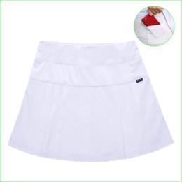 40914b8ae0 Tennis Balls Skirt NZ - Professional Tennis Skirt With Ball Pocket  Badminton Training Two-piece