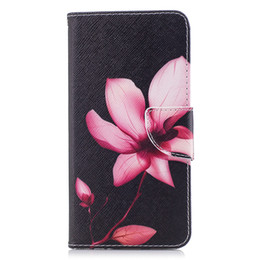 $enCountryForm.capitalKeyWord UK - Lotus Flower Mobile Phone Wallet Case Stand PU Leather Cover with Money Card Holder (112 Models for Option)