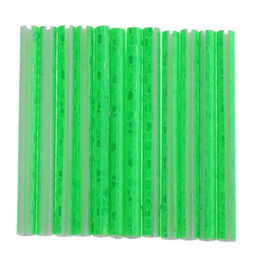 China 12pcs Bicycle Bike Spoke Light Reflective Bars Strips Night Riding Safety Warning Strips Cycling Lights Fluorescent Green suppliers
