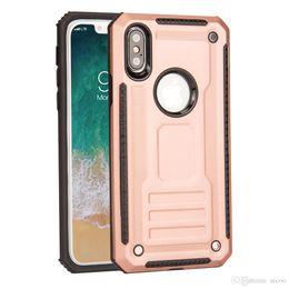 Toptan satış Phantom Serisi Zırh Hibrid Telefon Kılıfı Darbeye Koruyucu Kapak Için iPhone x 8 7 6 s 6 Artı Samsung S9 S8 artı Huawei P10 Artı ...