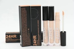 Oil Free Makeup Brands Canada - Brand Makeup Concealer Stick 7ML studio fix 24 hour smooth wear liquid Concealer 12pc dropship free shipping