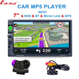 Gps Hd Australia - 2 Din 7 inch HD GPS Car Navigation 800MHZ FM 8GB DDR3 2017 Maps For Russia Belarus Europe USA+Canada TRUCK Satnav Camper Caravan
