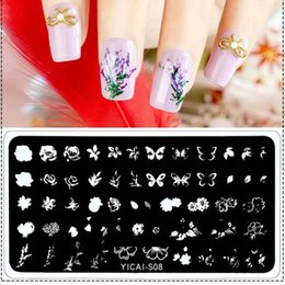 Cartoon Stamping Australia - Nail Stamping Plates Cartoon Design Various Series More Choices Manicure Stamping Template Image Plates For DIY Nail Decoration
