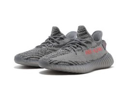 Chinese  Flash Deal Sply 350 V2 Kanye West Running Shoes Discount Semi Frozen Cream White Zebra Bred Hot Sale Beluga 2.0 Sneakers Athletic Sports manufacturers