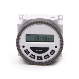 Wholesale 1NO NC Volt free Output A Time Relay Control V Days Programmable Digital Timer Switch with Protective COVER