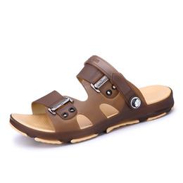 8c57504267f9e6 Men Sandals for Man Flip Flops Men Casual Shoes Summer Fashion Beach  Walking Shoes Slippers Sapatos Hembre Masculino