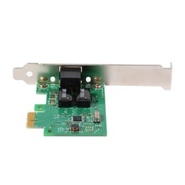 PCI-E Gigabit Ethernet LAN Express Scheda di rete con RTL chipset 8111c 2.5gb//s
