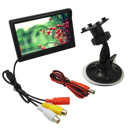 $enCountryForm.capitalKeyWord UK - LEEWA 5inch Digital Display Windshield LCD Car Monitor For Reversing Backup Camera DVD VCR SKU:4574