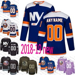 c94d46a92 2018 Custom Mens Women Youth New York Islanders Mathew Barzal Anders Lee  Ryan Pulock Any Name Number Ice Hockey Jersey stitched size S-3XL