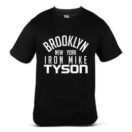 162dd1b03 3546-BK Mike Tyson Boxeo Celebrity Casual MMA Fashion Dope camiseta para  hombres negros
