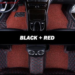 Swift Accessories NZ - Car Wind Leather Auto car floor Foot mat For grand vitara 2008 jimny sx4 swift accessories waterproof carpet rugs