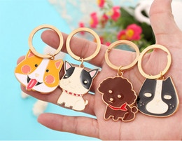 minion key chains wholesale NZ - Cartoon Animal alloy Cute Minion Key Cover Cap Fashion Keychains Women Chain Ring Holder Gifts Pendant Jewelry