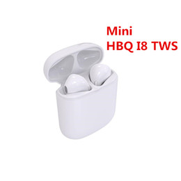 $enCountryForm.capitalKeyWord NZ - HBQ I7 I7S Twins TWS Wireless 4.2 Bluetooth Headphones Mini HBQ I8 Earbuds Headset with Mic for iPhone Android Samsung Sony Stereo Earphone
