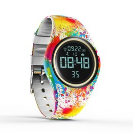 water smart watch NZ - Top Brand Color Sport Fitness Women Smart Watch Motion detection Creative watch