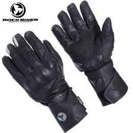 $enCountryForm.capitalKeyWord NZ - ROCK BIKER four seasons Breathable carbon fibre leather motorcycle gloves  racing gloves riding gloves  Outdoor sports Gloves