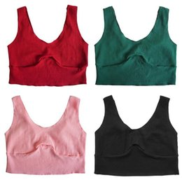 749cc53714d88c Ribbed Camisole Tank Top Sexy Cute Women Summer Cool Girl Pure Basic Crop  Short Top Cotton Solid Bowknot Simple Party Club Vest