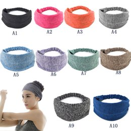 $enCountryForm.capitalKeyWord Canada - Retail 10 Colors Sports Yoga Hair Bands Quick Drying Elastic Headbands Hair Accessories Head Wear Free Shipping