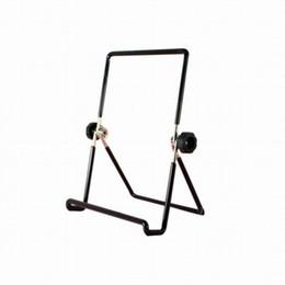 Atacado Pequeno Preto Ajustável Display Stand Tablet Suporte Giratório Universal Futural Digital Book Holder Venda Quente de Boa Qualidade