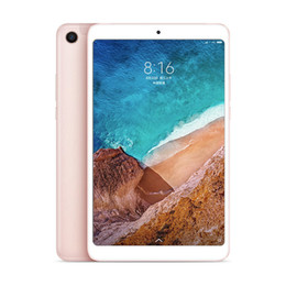"qualcomm tablets UK - Original Xiaomi Mi Pad 4 MiPad 4 Tablet PC WIFI 3GB RAM 32GB ROM Snapdragon 660 AIE Octa Core Android 8.0""13.0MP Face ID Smart Tablet Pad"