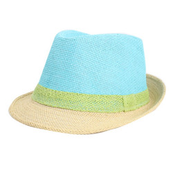 aa0801f89ec5f Wholesale- Fashion Women Hat Brim Summer Beach Sun Hat Straw Visor Cap