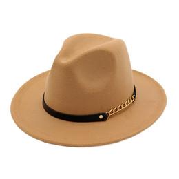 749c9b1e9c377 ElEgant wintEr hats man online shopping - JKP new fashion elegant jazz hat  woolen female spring