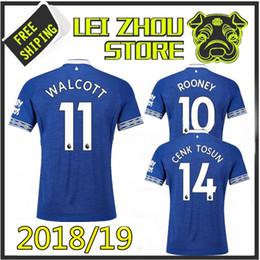 Thai quality 2018 2019 Walcott everton soccer jerseys ROONEY 18 19 everton  home SIGURDSSON CENK TOSUN FUNES MORI Football uniforms shirts 1e7e91f96