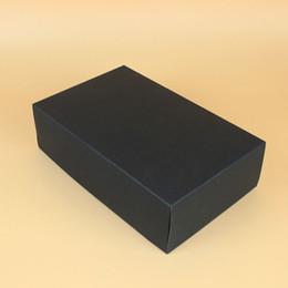 $enCountryForm.capitalKeyWord NZ - 28*18*8cm DIY Handmade Gift Boxes Kraft Paper Gift Box Blank Packaging Cardboard Box for Ornaments Scarf Tie