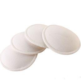 4pcs Fashion Baby Feeding Breast Pad Washable Nursing Pad Soft Absorbent Reusable Nursing Anti-overflow Maternity on Sale