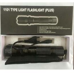 Vente en gros Vente chaude Nouveau 1101 1102 6610 Type Edc Linternas Light LED Lampe de poche tactique Lanterna Self Defense Torch Livraison gratuite